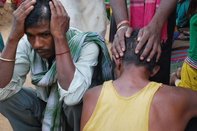 Dalit Beaten in saharsa village