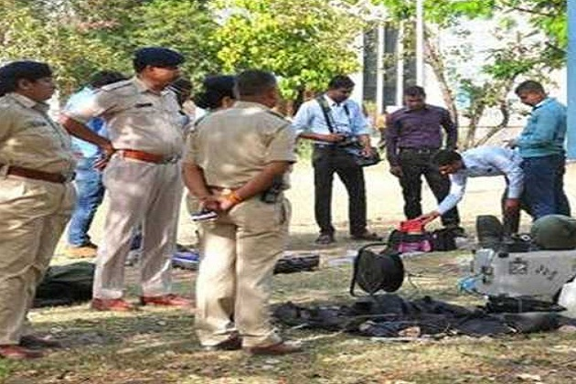 constable ashish put explosive in hostel says ATS chief