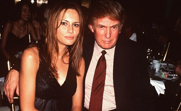 Donald Trump, pictured in 1999 with his then girlfriend Melania Knauss at Cipriani's restaurant - five years after the alleged abuses Read more: http://www.dailymail.co.uk/news/article-3564767/Donald-Trump-furiously-denies-woman-s-claims-raped-tycoon-billionaire-pedophile-Jeffrey-Epstein-s-sex-parties.html#ixzz47I5U2Cn9  Follow us: @MailOnline on Twitter | DailyMail on Facebook
