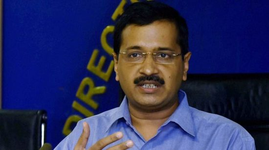 New Delhi: Delhi Chief Minister Arvind Kejriwal addressing a press conference  after the cabinet meeting in New Delhi on Monday.PTI Photo by Atul Yadav(PTI10_19_2015_000049A)